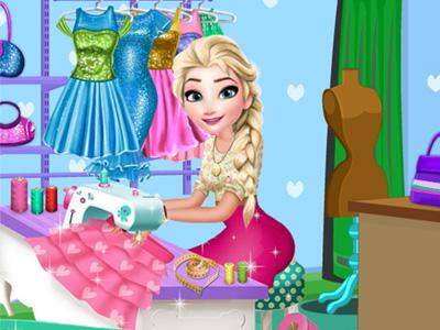 Elsa Terzi Dükkanı oyunu