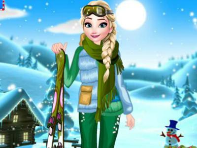 Elsa Kış Macerası oyunu