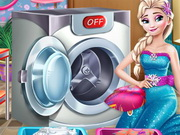Elsa Çamaşır Günü oyunu