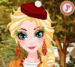Elsa Yüz Boyama oyunu