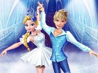 Elsa ve Jack Buz Balesi oyunu