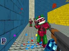 Pixel Hızlı Mermi oyunu