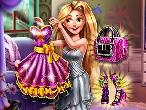 Rapunzelin Kıyafetlerini Bul oyunu