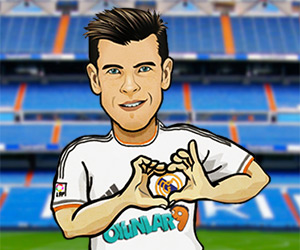 Gareth Bale Kafa Futbolu oyunu