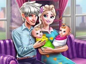 Elsa ile Jack Bebek Bakımı oyunu
