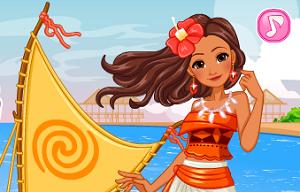 Polinezyalı Prenses Moana oyunu