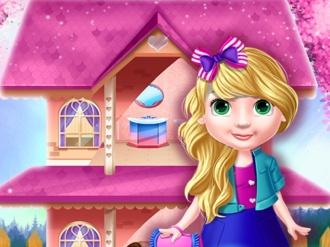 Prenses Oyuncak Ev Dekorasyon oyunu