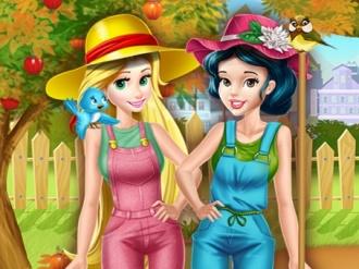 Prenseslerin Bahçe Çalışması oyunu