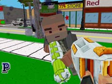 Zombi Minecraft oyunu