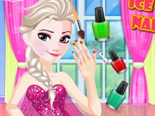 Buz Kraliçesi Çivi Spa oyunu