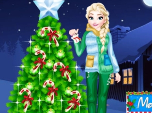 Elsa Noel Ağacı oyunu
