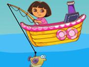 Dora Balık Tutma oyunu