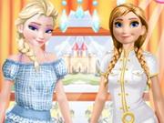 Elsa ve Anna İş Günü oyunu