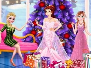 Prensesler Noel Partisi oyunu