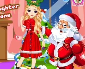 Noel Baba nın Kızı Evde Tek Başına