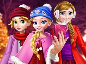Prenses Noel Selfie