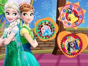 Prensesler Çerezleri Dekorasyon oyunu