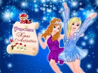 Prensesler Xmas Faaliyetleri oyunu