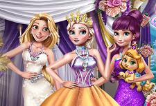 Prensesler Kış Galası oyunu