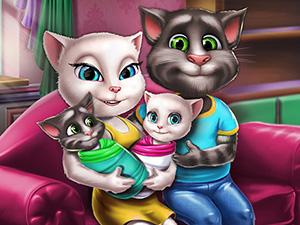 Angela Twins Aile Günü oyunu