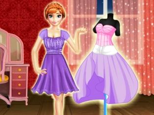 Anna Elbise Tasarımı oyunu