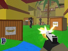 Blocky Combat Swat 3 oyunu