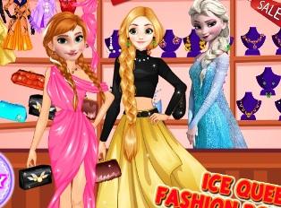 Elsa Moda Butik oyunu