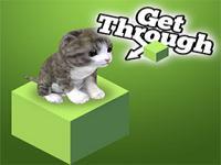 Kediyi Balığa Götür 3D oyunu