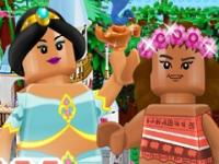 Lego Prensesler Disney oyunu