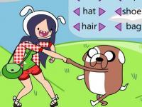 Adventure Time Karakterlerini Tasarla oyunu