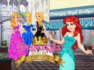 Prensesler Kraliyet Butik oyunu