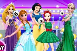 Prensesler Moda Çatışması oyunu