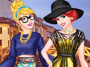 Prensesler Milan Modelleri oyunu