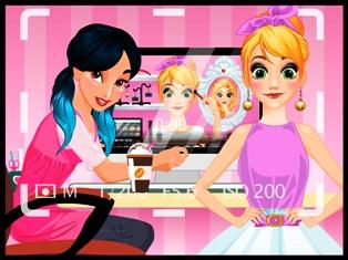 Prensesler Güzellik Videolog oyunu