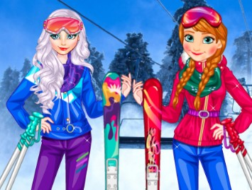 Prensesler Kayak oyunu