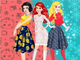 Prensesler Kış Gezisi oyunu
