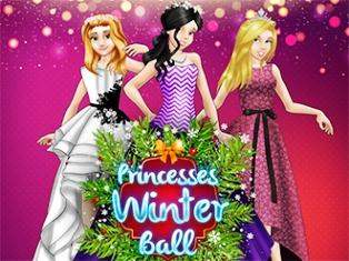 Prensesler Kış Partisi oyunu