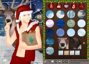 Soğuk Noel Baba Elbise