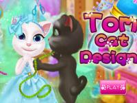 Kedi Tom Tasarım oyunu