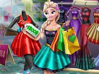 Elsa Gerçek Alışveriş oyunu