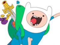Adventure Time Boyama Kitabı oyunu
