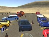 Araba Park Simülatörü oyunu