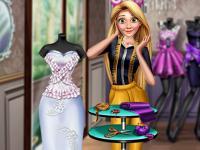 Rapunzel Gelinlik Tasarımı oyunu