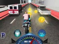 Motor Yarışçısı 3D oyunu