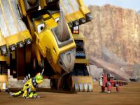 Dinozor Makineler Dozer oyunu