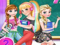 Prensesler Okulda