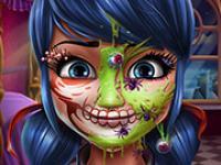 Uğur Böceği Cadılar Bayramı Makyajı oyunu