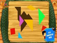 Ege ile Gaga Tangram Oyunu oyunu