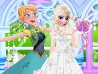 Elsa Düğün Hazırlıkları oyunu