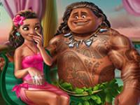 Moana Egzotik Prenses oyunu
